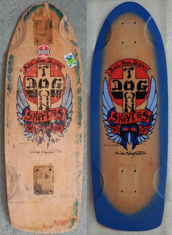 dogtown wes humpston skateboard deck.
